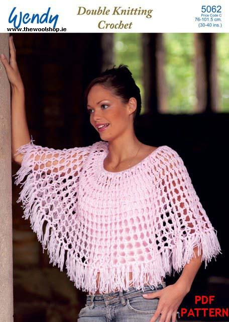 Wendy Dk 5062 Digital Crochet Pattern The Wool Shop Knitting