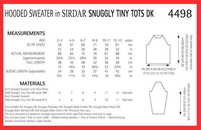 ff228f4522128 Sirdar Tiny Tots DK 4498 (digital pattern)