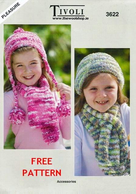 Tivoli Pleasure 3622 Free Digital Pattern The Wool Shop Knitting