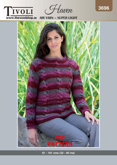 Tivoli Haven Super Chunky 3696 Digital Pattern The Wool Shop