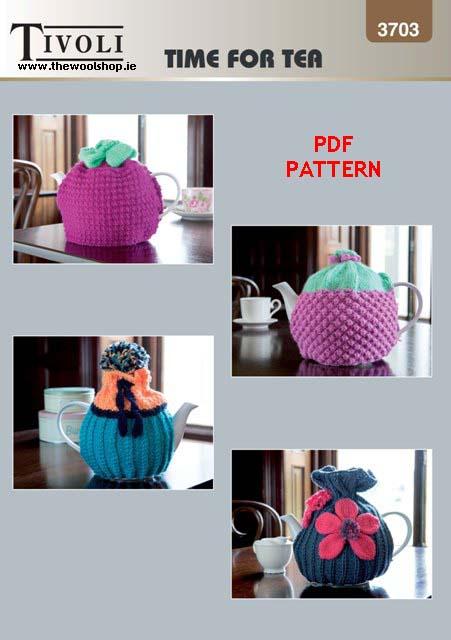 Tivoli Blockbuster Dk 3703 Digital Pattern The Wool Shop