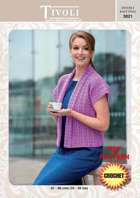 Tivoli Double Knitting 3821 Digital Crochet Pattern The Wool