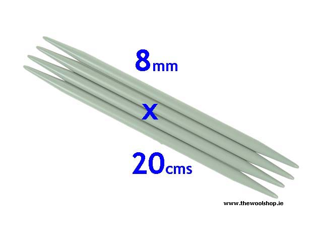 PONY  8mm Double Ended Needles