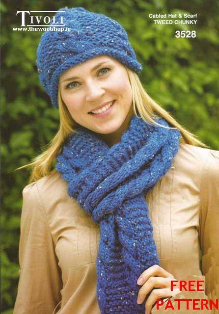 Tivoli Tweed Super Chunky Free Digital Pattern The Wool Shop