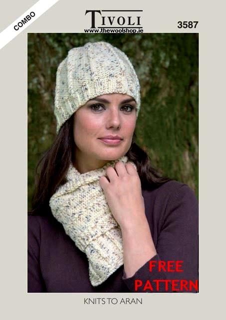 Tivoli Combo Aran Free Digital Pattern The Wool Shop Knitting