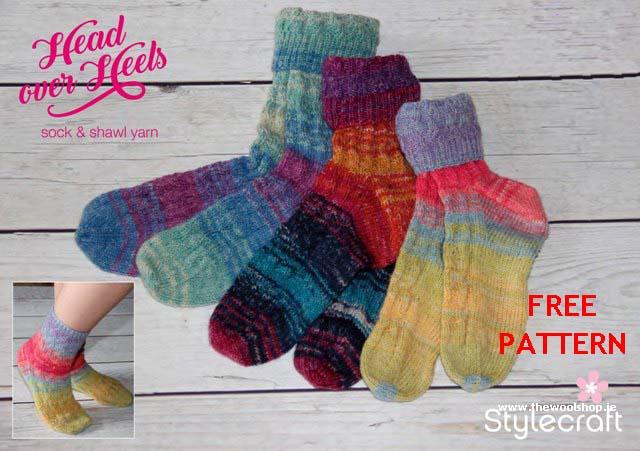 Stylecraft Head Over Heels Free Digital Pattern The Wool Shop