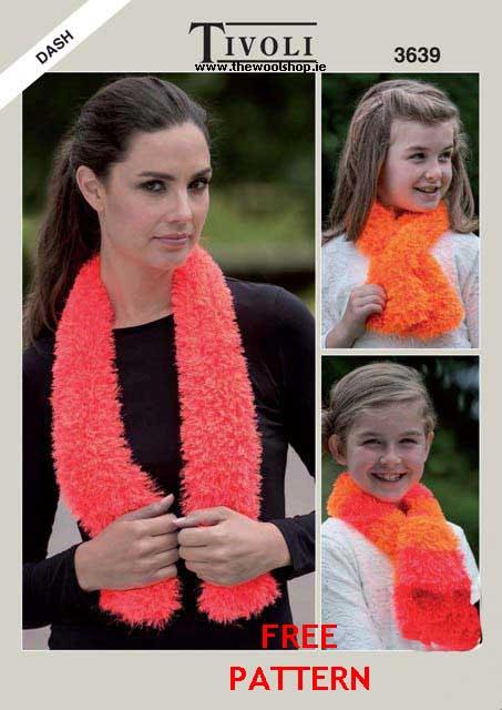 Tivoli Dash 3639 Free Digital Pattern The Wool Shop Knitting
