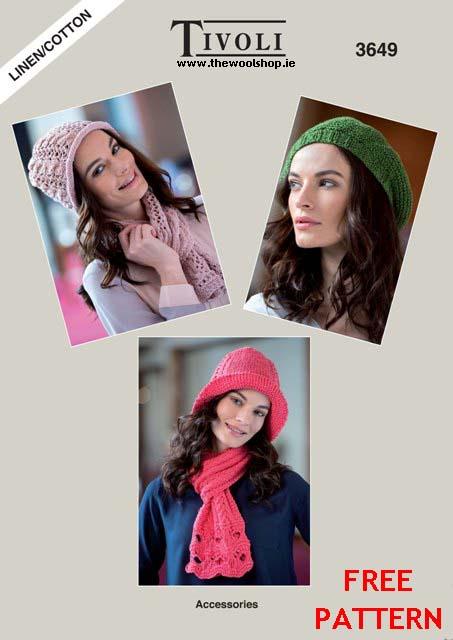 Tivoli Linencotton Aran Free Digital Pattern The Wool Shop