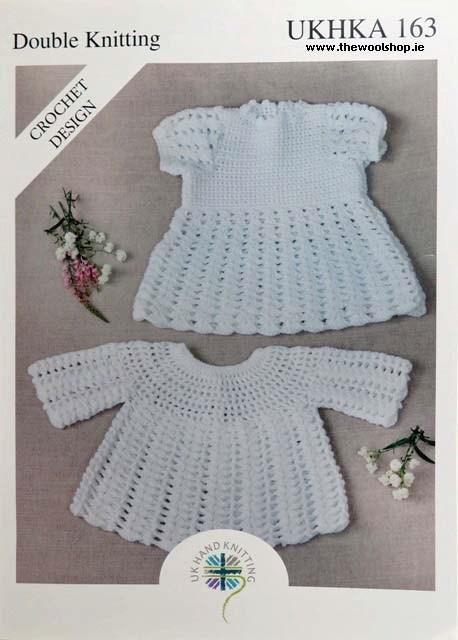 Ukhka Double Knitting Crochet Pattern 163 The Wool Shop Knitting